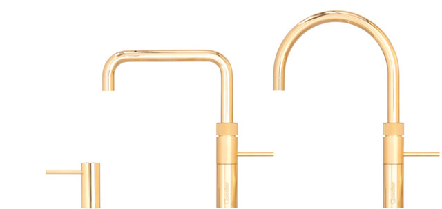 Kokendwaterkraan Quooker Fusion Limited Edition The Golden One Fusion